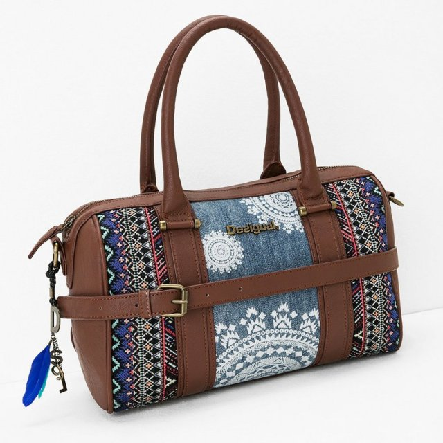 Desigual MALTA AFRICAN ART bag. $104.95. Fall-Winter 2015.