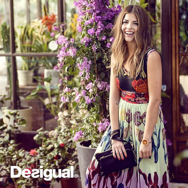 Desigual HELSINKI maxi dress by Christian Lacroix.