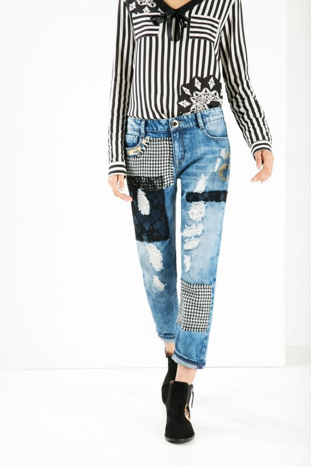 Desigual MULATO BOYFRIEND jeans. $175.95. Fall-Winter 2015