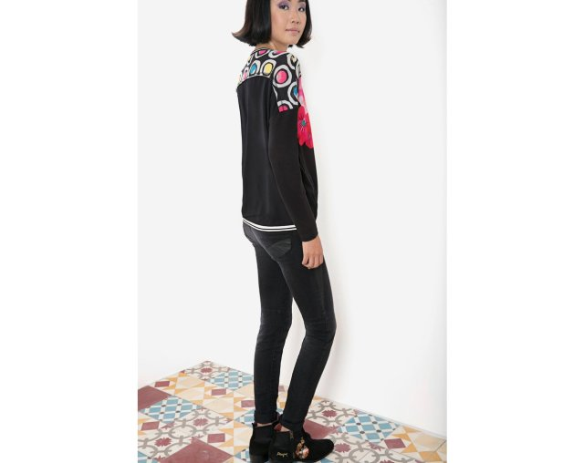 Desigual OSEA t-shirt by Christian Lacroix. $110. Fall-Winter 2015.