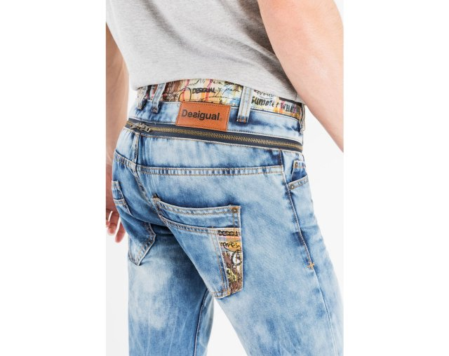 Desigual PABLOS jeans. $119. Take 35% off = $78.