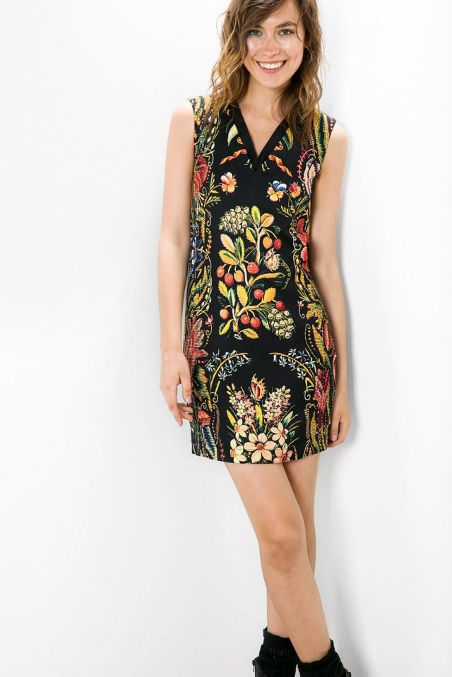 Desigual PISA dress by Christian Lacroix. $179.95. Fall-Winter 2015.