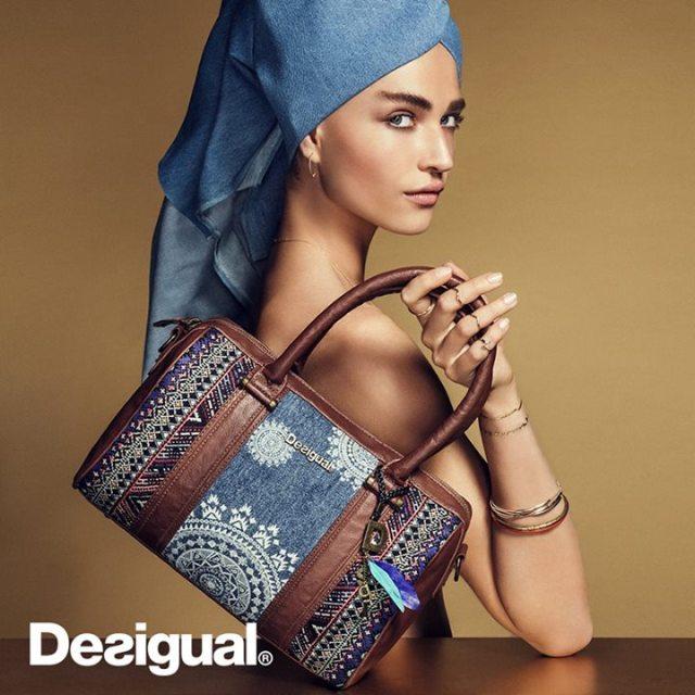 Desigual MALTA AFRICAN ART purse.