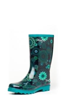 Desigual.rain.boots.blue