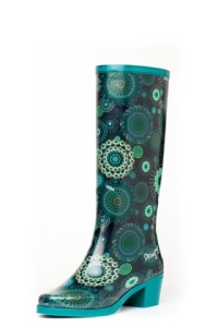 Desigual.rainboots.blue.tall