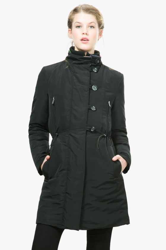 Desigual SILVIA winter coat by Christian Lacroix. $359.95.