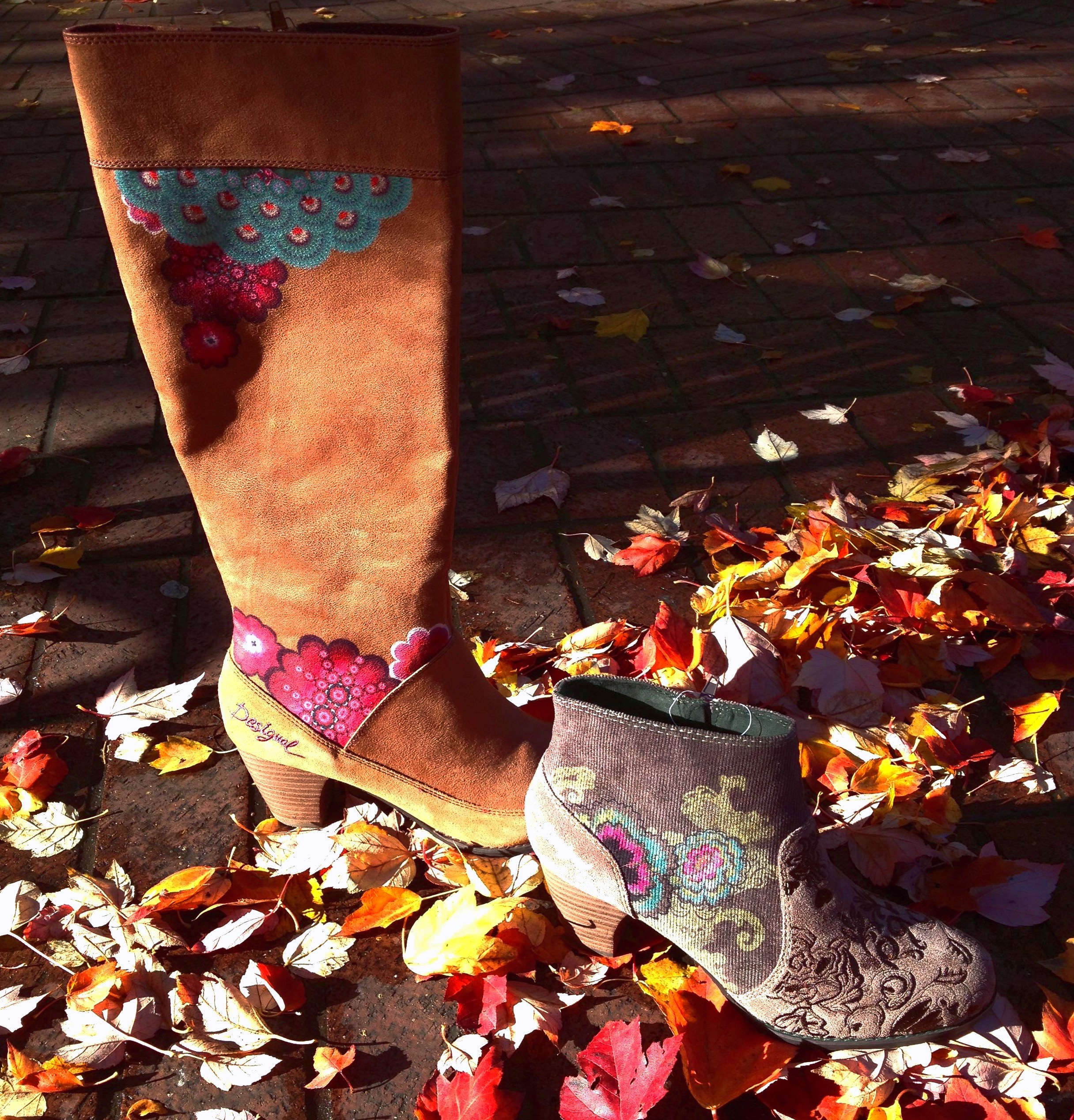 Get Your Kicks For Fall 2013 With New Desigual Boots At