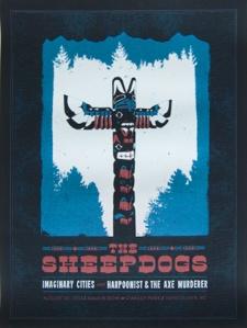 Sheepdogs.van.concert.poster
