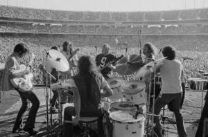 Crosby, Stills, Nash & Young Performing