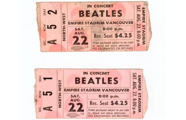 Beatles.concert.Vancouver.1964