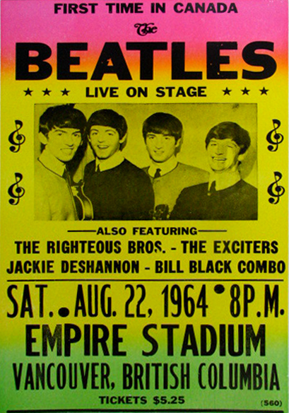 Beatles.Vancouver.concert.Aug.22.1964