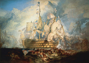 M.W. Turner,_The_Battle_of_Trafalgar_(1822)