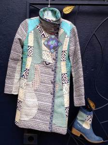 Desigual.Campera.4.boots.$254.and.matching.Lady.Blue.coat.$429