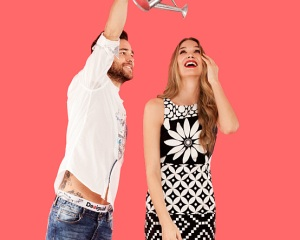 Desigual.flores.dress.and.mens.shirt.and.jeans.valentines.2014