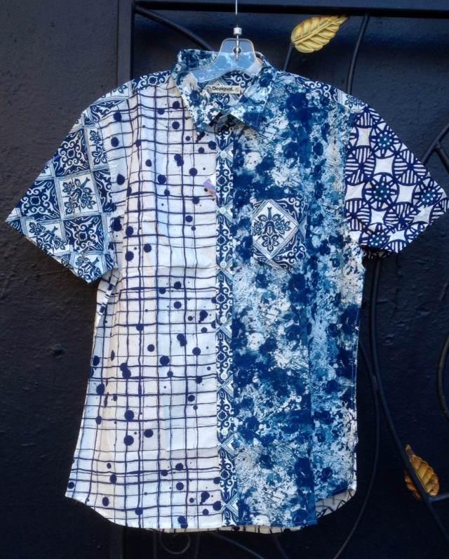 Desigual.mens.CORTA.shirt.shot.sleeves.$114.SS2014