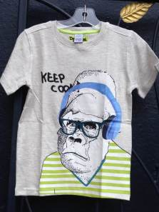 Desigual.TER.kids.Tshirt.monkey.headphones.organic.cotton.$44.Spring.Summer.2014