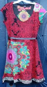 Desigual.Yolanda.dress.$124.SS2014
