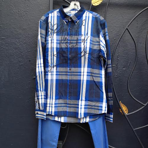 Desigual.Javi.shirt.$134 .&.Ontax.cotton.pants.$75