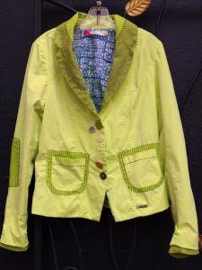 Desigual.Lysithea.jacket.acid.green.$264.SS2014