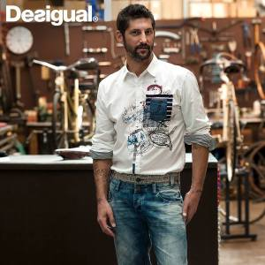 Desigual.mens.CHINA.shirt.SS2014