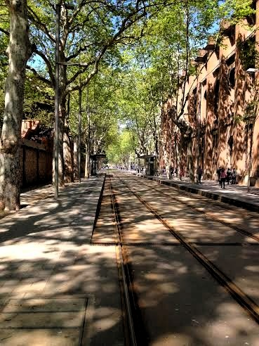 Barcelona.day1.tram.tracks.byZoo.april.2014