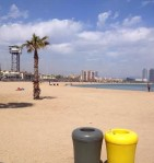 Barcelona.Day2.Desigual.tour.beach.in.front