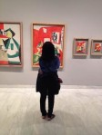 Barcelona.Picasso.museum.Jackie.in.front.of.painting.2014