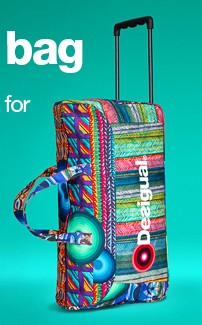Desigual.Travel.bag