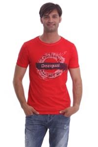 Desigual.Underground.Tshirt.red