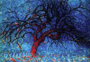 The.red-tree.1908.Piet.Mondrian