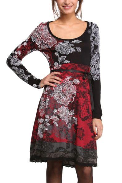Desigual.CELINE.dress.red.FW2014