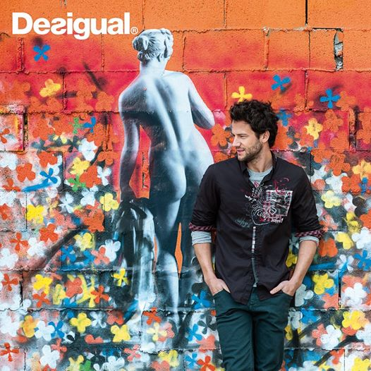 Desigual.Grafitera Negra.Fall.Winter.2014