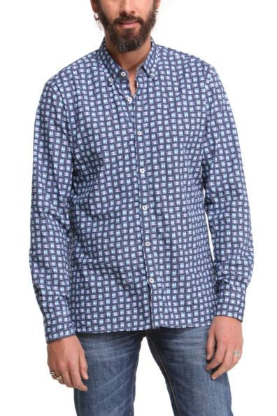 Desigual.man.MITO.shirt.$114.robots.FW2014