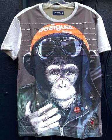 Desigual.Monkey.3D.Tshirt.$99.FW2014