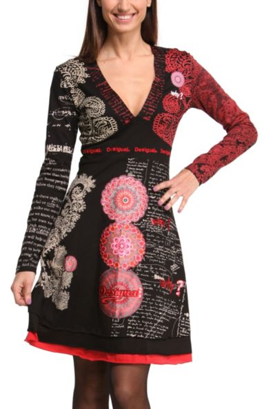 Desigual.TIJAT.dress.FW2014