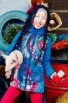 Desigual kids AUGA coat that is water resistant. Was $150, now 30% off ($100). Fall-Winter 2014 collection.
