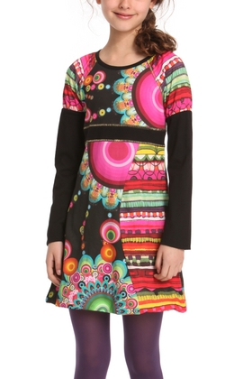 Desigual.kids.CLAVEL.DRESS.$74.FW2014