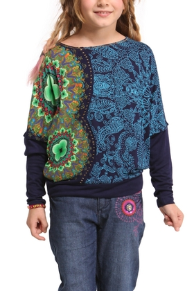 Desigual.kids.FRANCK.knitted.long.sleeve.Tshirt.$89.FW2014