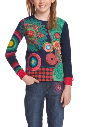 Desigual.kids.TEBA.longsleeve.knitted.T.FW2014