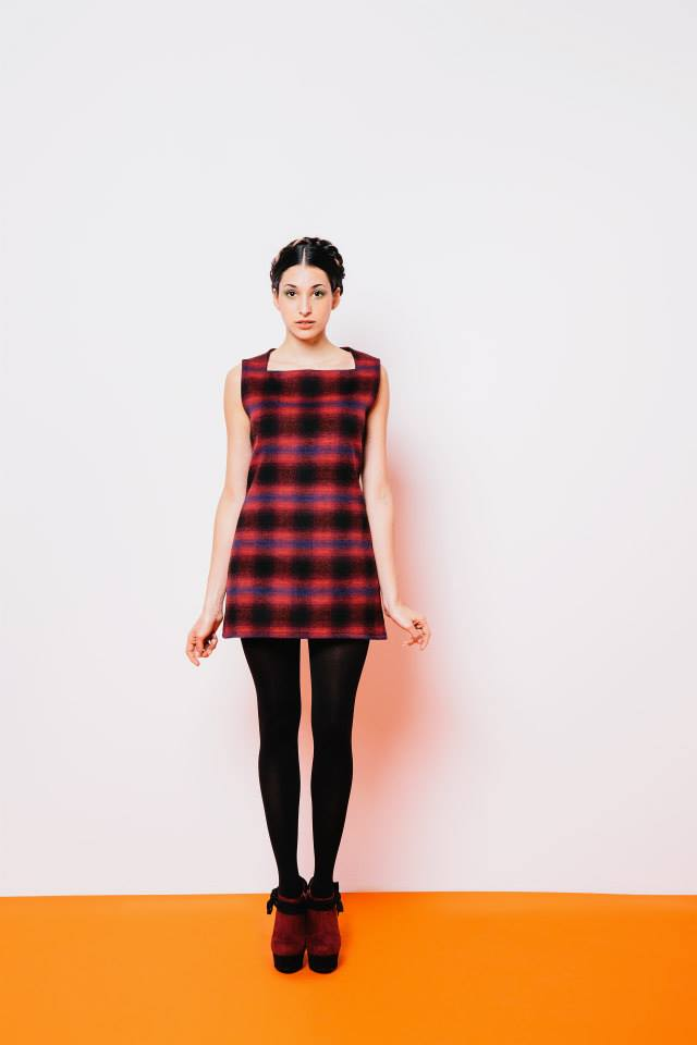 Purple.Jam.plaid.dress.FW2014