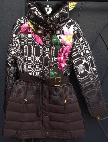 Desigual.woman.Amapola.down .jacket.$439.FW2014