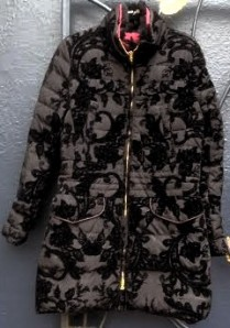 Desigual.woman.IBUK down jacket by Lacroix $449