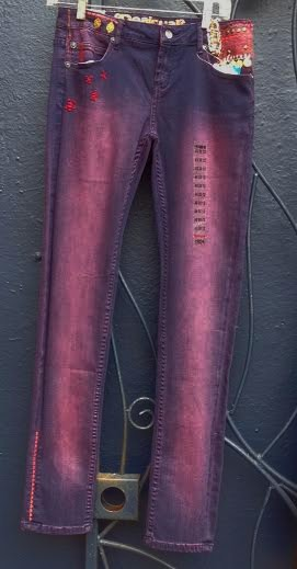 Desigual.woman.Sangrita.jeans.$154.FW2014