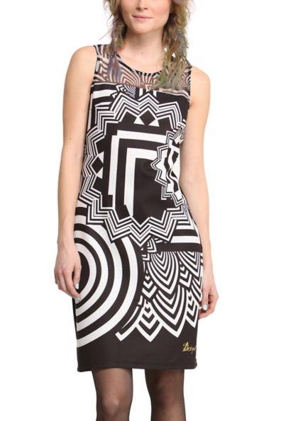 Desigual dress black and white picture