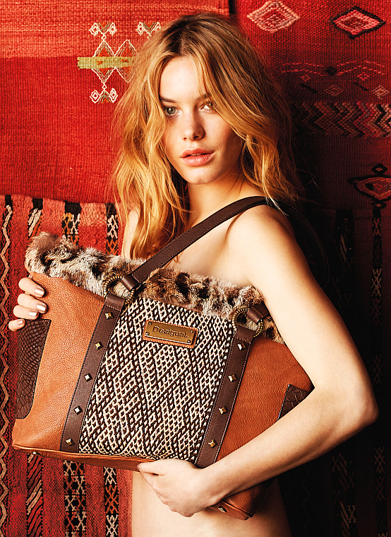 Desigual SAINT TROPEZ ANIMAL bag now is on sale.