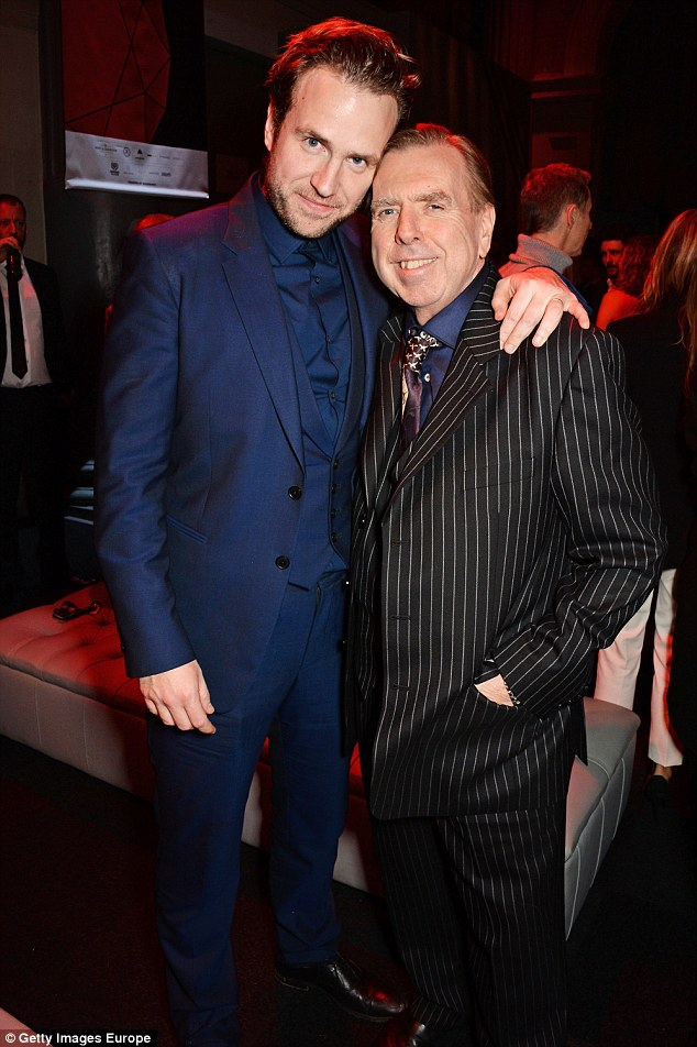Actor.Rafe.Spall.with.dad.Timothy.Getty.Images