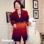 Desigual IMMA coat made in Italy using alpaca wool. Was $444. Now $311 (30% off). Desigual by Christian Lacroix for Desigual. Fall-Winter 2014.