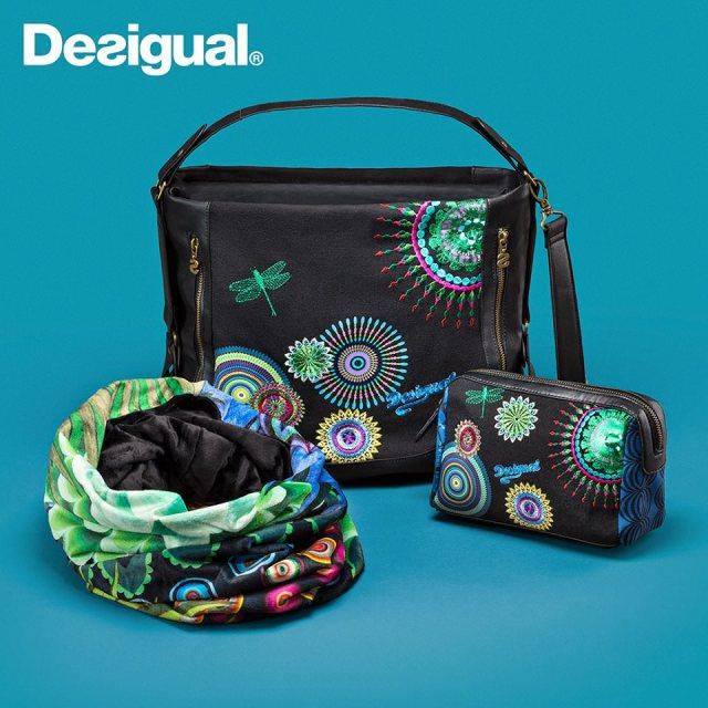 Desigual Rombo Libelula bag $134. FW2014 angelvancouver.com