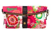 Desigual CLUTCH FLOREADA bag. $64. Spring-Summer 2015.
