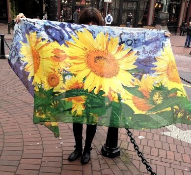All Desigual scarves will be 20% off during the Gastown Shop Hop.